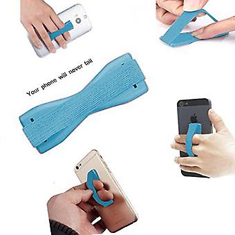 ONX3 (Baby Blue) Universal Anti-Slip Elastic Finger Mobile Phone Grip Holder For  Xiaomi Mi 8