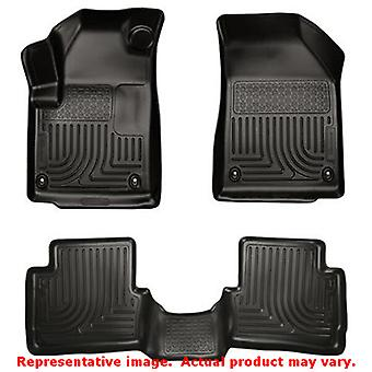 Black Husky Liners # 99021 WeatherBeater Front & 2nd Sea FITS:DODGE 2013 - 2014