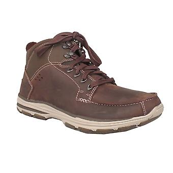 Sketchers Mens Boot 65169 Chocolate