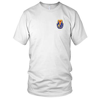 US Army - 206th Chemical Battalion Embroidered Patch - Kids T Shirt