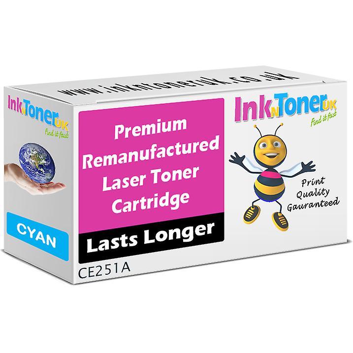 Rehommeufacturouge 504A Cyan CE251A Toner for HP Colour LaserJet CM3530