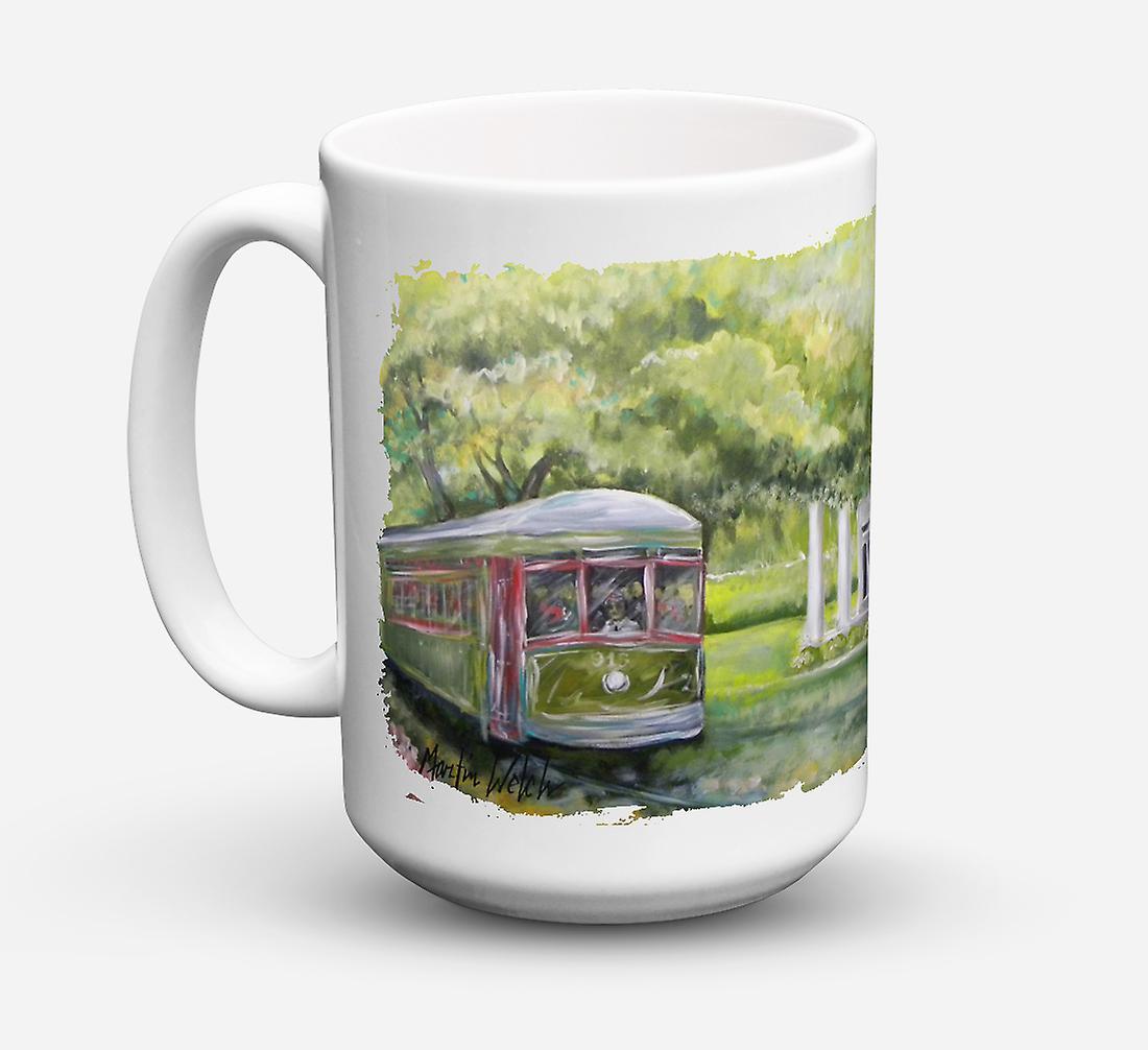 Café Park Lave vaisselle À ondes Micro Streetcar Céramique Stop Next Audubon Sûre Pour Mug TFcluK1J3
