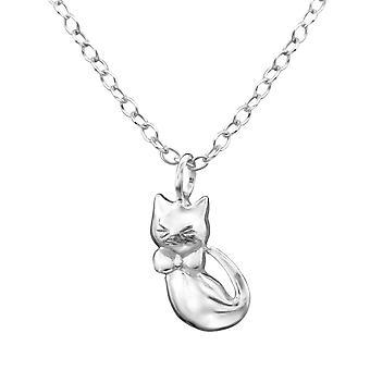 Katze - 925 Sterling Silber Ketten - W28585x