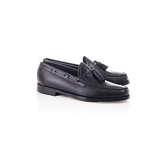 Bass Weejuns Weejun Larkin Pull Up Leather Tassle Loafer