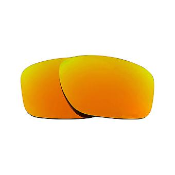 Replacement Lenses Compatible with OAKLEY SLIVER Non-Polarized 24K Gold Mirror