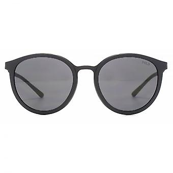 Polo Ralph Lauren Round Sunglasses In Black