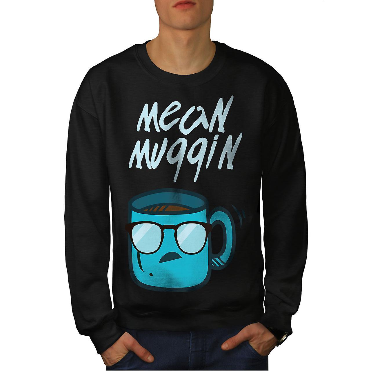 Veux dire Mug hommes Cool noirSweatshirt