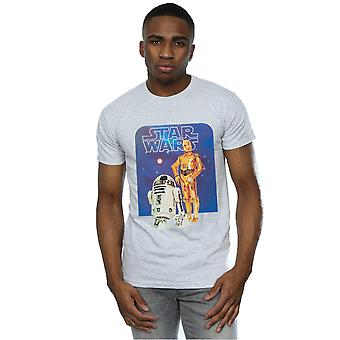 Star Wars Men's R2-D2 and C-3PO T-Shirt