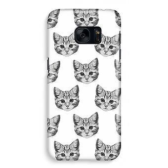Samsung S7 Full Print Case - kattungen