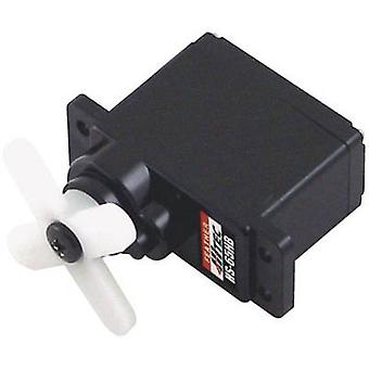 Hitec Mini servo HS-65HB Analogue servo Gear box material: Carbonite Connector system: JR