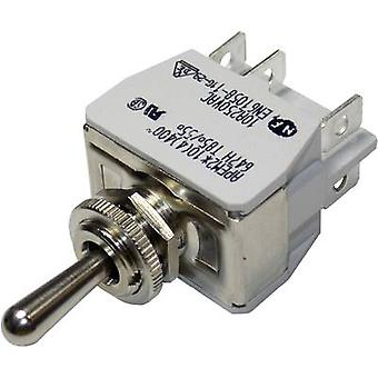 Toggle switch 250 Vac 10 A 2 x (On)/Off/(On) APEM