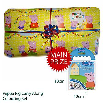 Pass the Parcel Ready Made Party Game - Peppa Pig Option 2