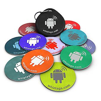 NFC tags 10 Pack - Topaz 512 (Compatible with all NFC phones) - WhizTags