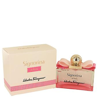 Signorina In Fiore Eau De Toilette Spray By Salvatore Ferragamo