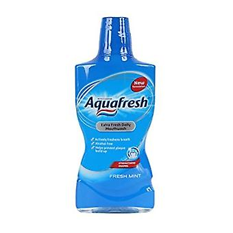Aquafresh Extra Fresh Daily Mouthwash 500ml