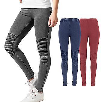 Urban classics ladies - DENIM JERSEY stretch leggings