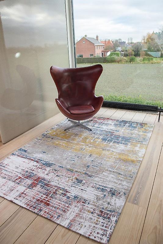 Atlantique graissées 8714 Montauk Multi Rectangle tapis tapis moderne