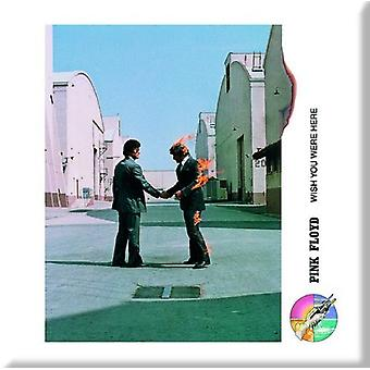 Pink Floyd Fridge Magnet Wish you were here Shake Hands new Official 76mm x 76mm