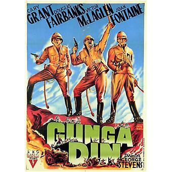 Gunga Din filmposter (11 x 17)
