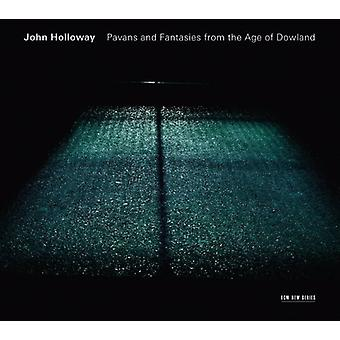 John Holloway - Pavans & Fantasies From the Age of Dowland [CD] USA import