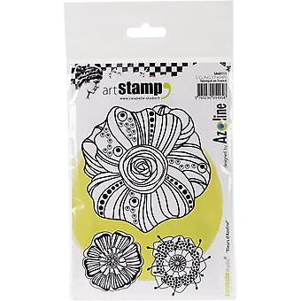 Carabelle Studio Cling Stamp A6-Azoline's Flowers