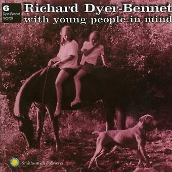 Richard Dyer-Bennet - nr 6 med ungdomarna i Min [CD] USA import