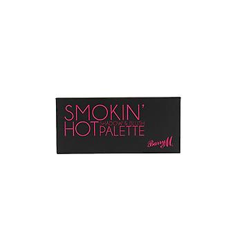 Barry M Barry M Smokin ' caliente sombra y Blush Palette