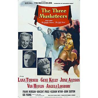 The Three Musketeers Movie Poster (11 x 17)