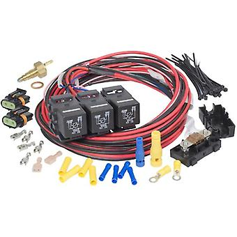 Painless 30118 Dual Activation Dual Fan Relay Kit