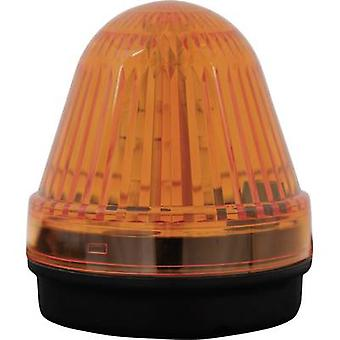 Light LED ComPro Blitzleuchte BL70 2F Yellow Non-stop light signal, Flash 24 Vdc, 24 V AC