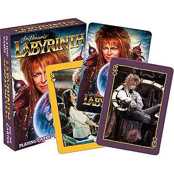 David Bowie Labyrinth Set Of 52 Playing Cards (+ Jokers)