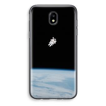 Samsung Galaxy J5 (2017) Transparent Case (Soft) - Alone in Space