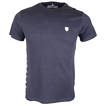 883 Police Calabro Slim Fit Round Neck Navy T-shirt