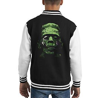 Frankenstein Silhouette Kid's Varsity Jacket