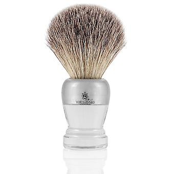 Vie-Long 16451 Grey Tip Badger Shaving Brush