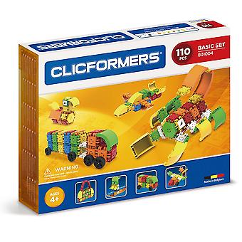 Clicformers Basic 110 PCS Set Building and Construction Toy