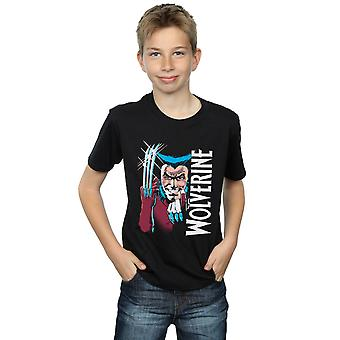 Marvel Boys X-Men Wolverine Come Here T-Shirt