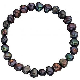 Beginnings Freshwater Pearl Cultured Bracelet - Multi Colour