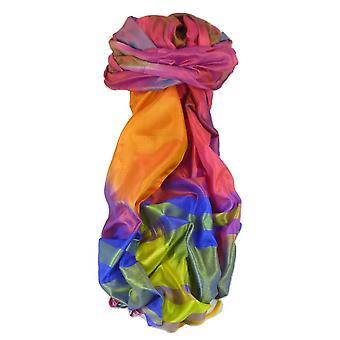 Bera de Varanasi Ekal Premium seda longo cachecol património alcance 7 por Pashmina & seda