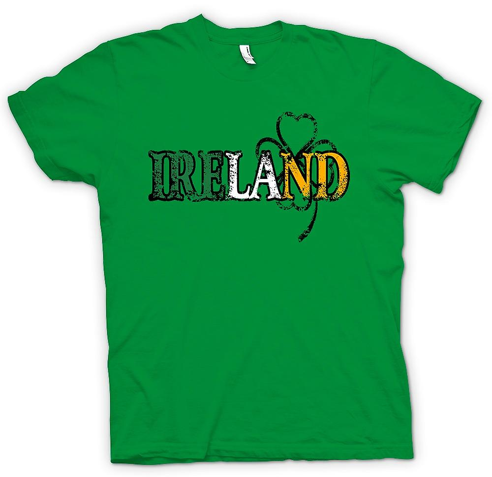 Mens t-skjorte - St Patricks Day - Irland
