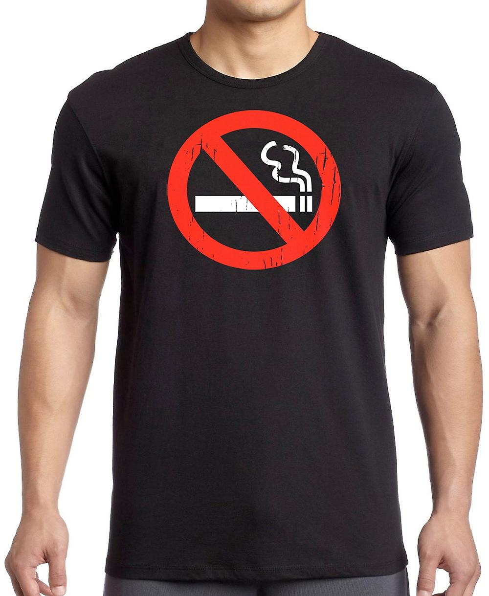 No Smoking Sign - Funny T Shirt