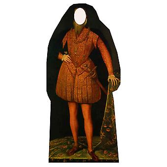 Tudor Man Stand in - Lifesize Découpage cartonné / Standee