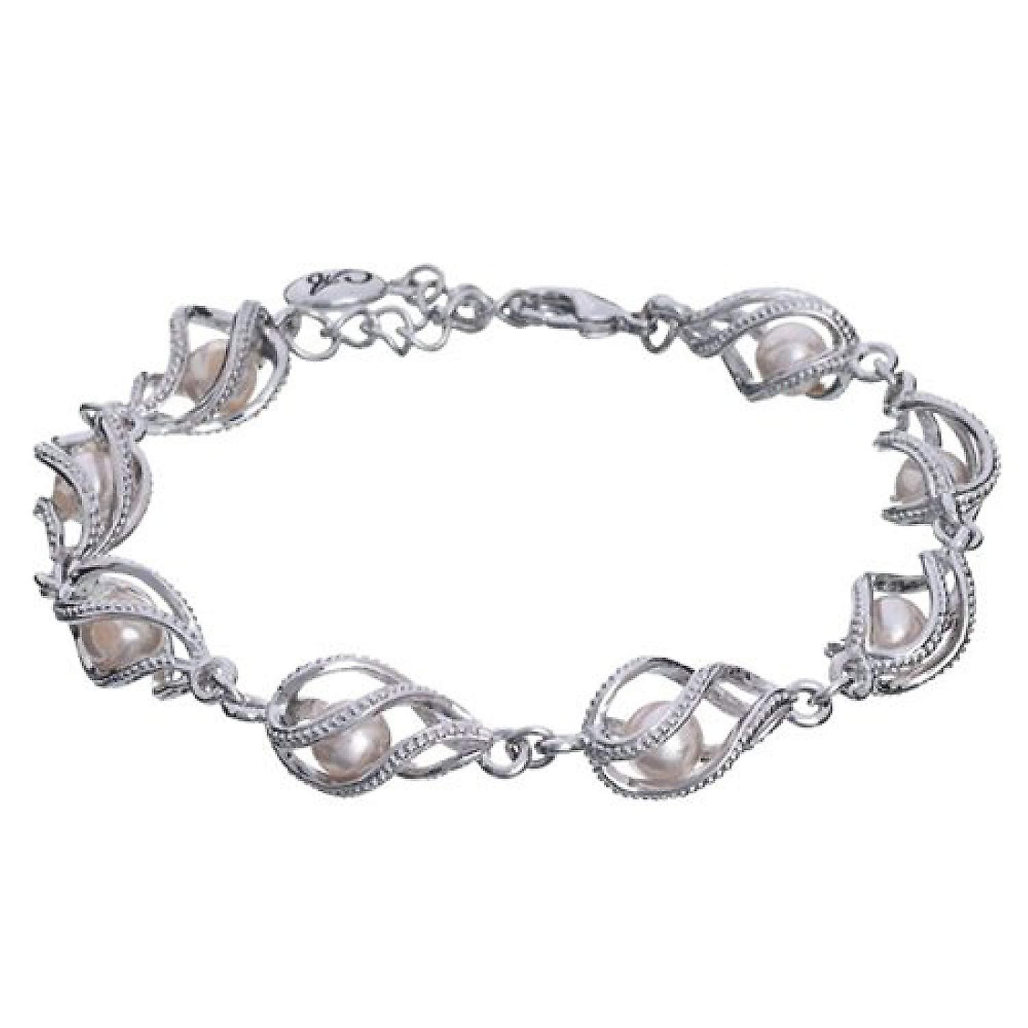 Annaleece Bracelet With crystals & Simulated Pearls