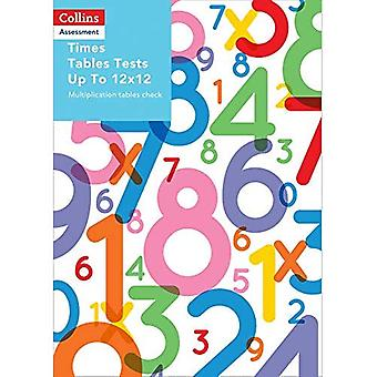 Collins Assessment - Times Tables Tests Up To 12x12