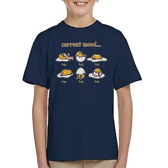 Gudetama gjeldende stemning lat Kids t-skjorte