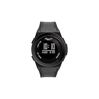Kenneth Cole men's steel watch 10022805 _, color: black/grey