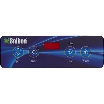 Balboa 11884 Icon 10 Lite Duplex Topside Control Overlay