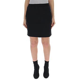 Calvin Klein Jeans Black Cotton Skirt