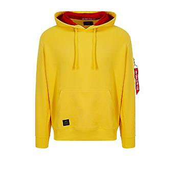 Alpha Industries OTH Hoodie | Yellow