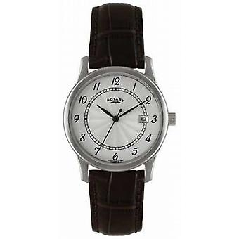 Rotary Mens Classic Dress With Silver Dial GS00792/22 Watch